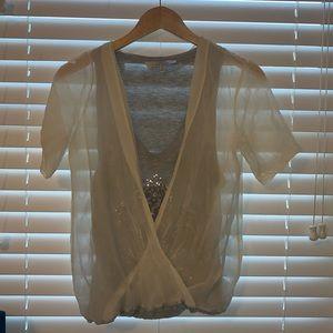 Robert Rodriguez silk top